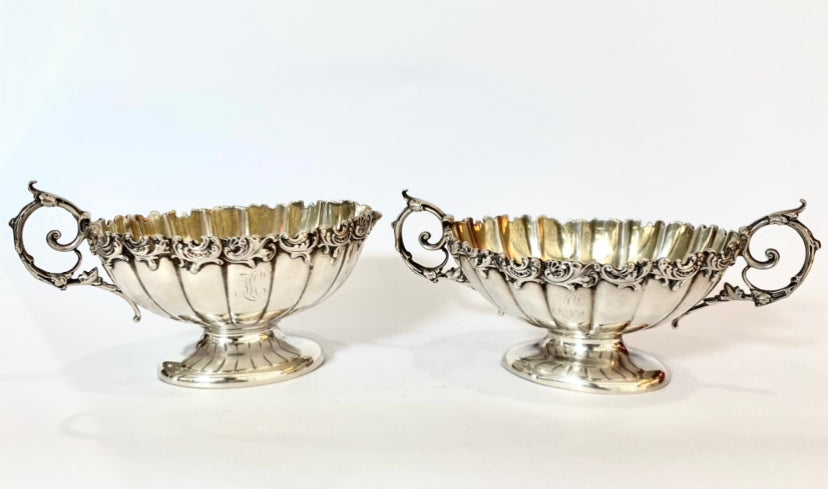 Sterling Silver Sugar and Creamer by Gorham