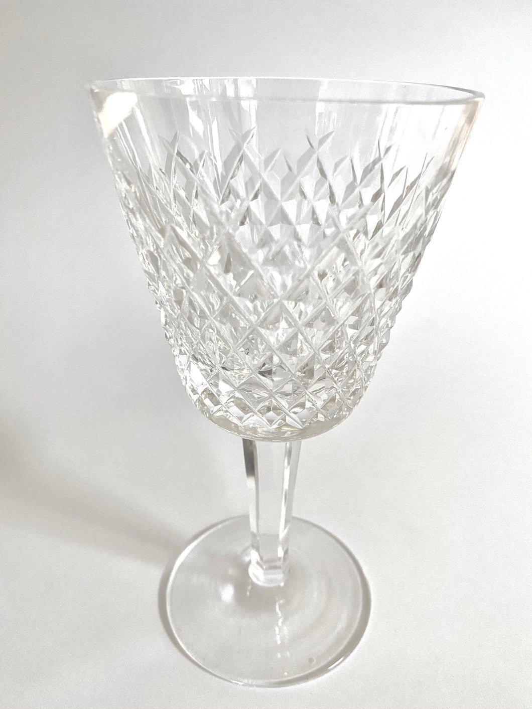 Set of 6 Waterford Wine Glasses in the Alana Pattern