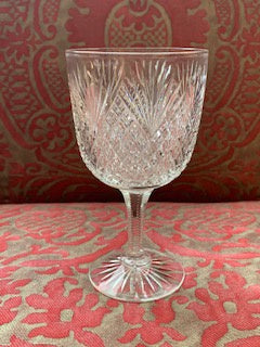 GP1451 Set 4 Hawkes Crystal Wine Glasses Goblets