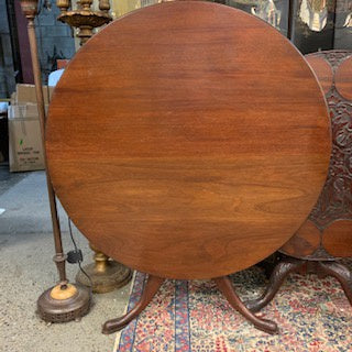 FT0025 English Mahogany Large Breakfast Tilt-Top Table (c.1770's)