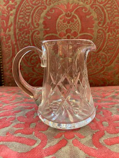 GP0148 Cut Crystal Cream Jug