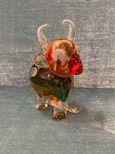 GP0177 Murano Glass Cow