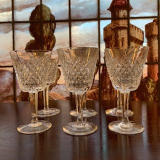GP0123 Set Of 6 Waterford Wine Glasses in the Alana Pattern
