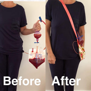 Drain Bag for post surgery mastectomy cancer care