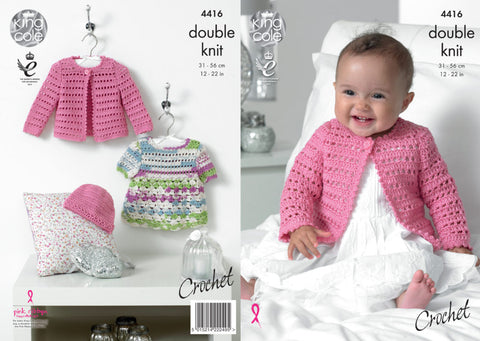 King Cole Crochet Pattern 4416