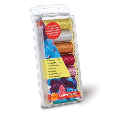 Gutermann Metallic Thread Set