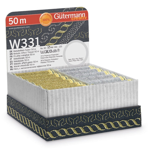 Gutermann Metallic Effect Thread 50m