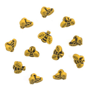 Trimits Novelty Buttons Bees Pack of 12