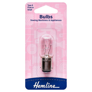 Hemline Sewing Machine Screw In Bulb