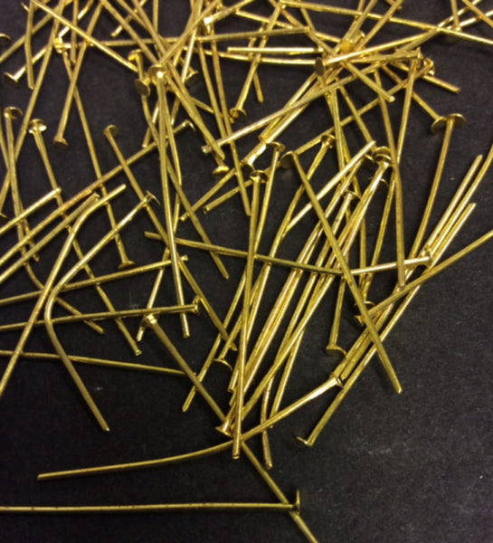 headpins in assorted colours for jewellery making