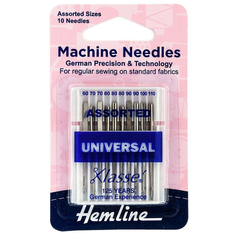 Hemline Assorted Machine Sewing Needles