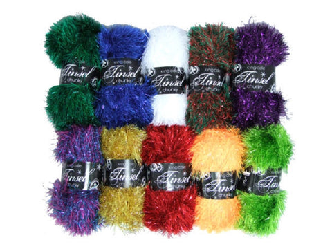 King Cole Tinsel Chunky Yarn