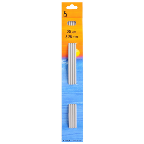 Pony Double Pointed Knitting Needles set of 4  3.25 mm
