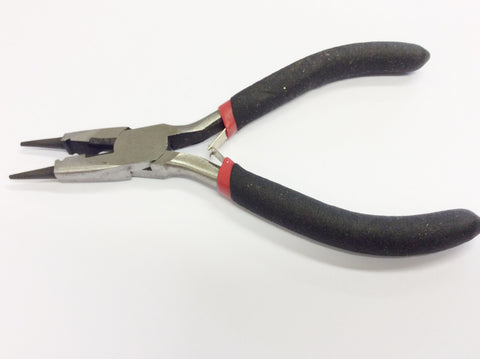 Round Nose Plier with Side Cutter - Pk 1