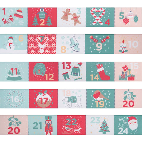 Trimits Advent Calendar Ribbon