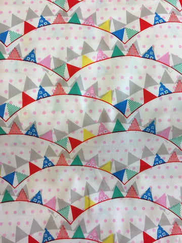 100% Cotton Fabric - Bunting