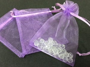 Organza Bags Various Colours and Sizes-pk10