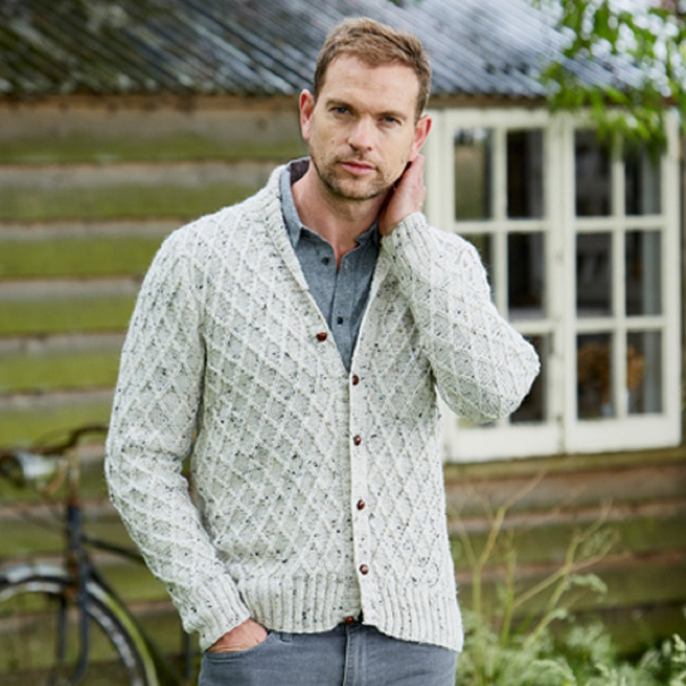 Stylecraft 9338 DK Mens Sweater Knitting Pattern