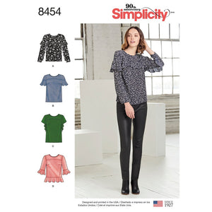 Simplicity 8454 Top Sewing Pattern