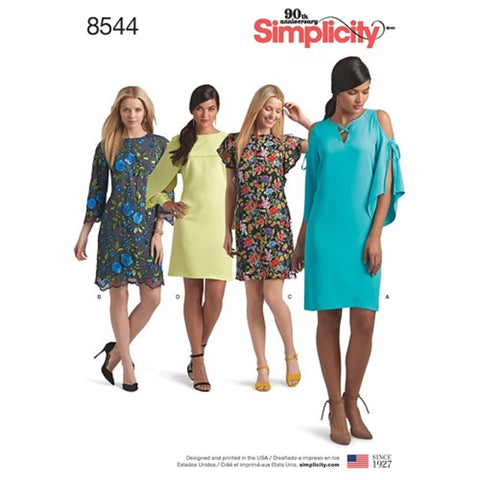 Simplicity 8544 Dress Sewing Pattern