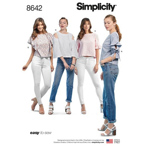 Simplicity 8642 Top Sewing Pattern