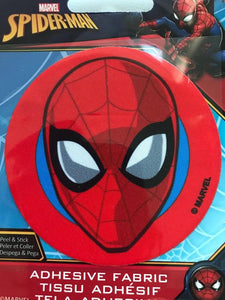 Spiderman Adhesive Fabric Motif