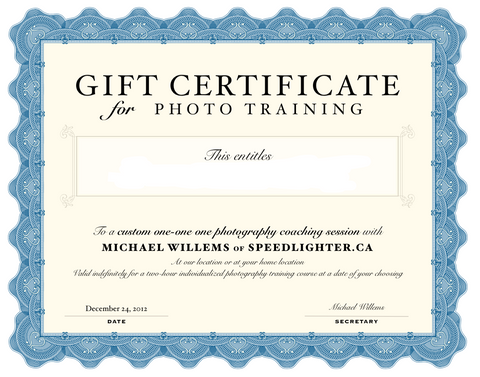 Gift Voucher: Private Course