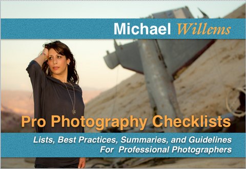 "NEW: Pro Checklists: 100 ""Reference card"" pages of Best Practices, Guidelines and Summaries for all photographers."