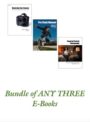 """Bundle Of Three"" Custom Mini Collection: ANY Three Michael Willems e-books"