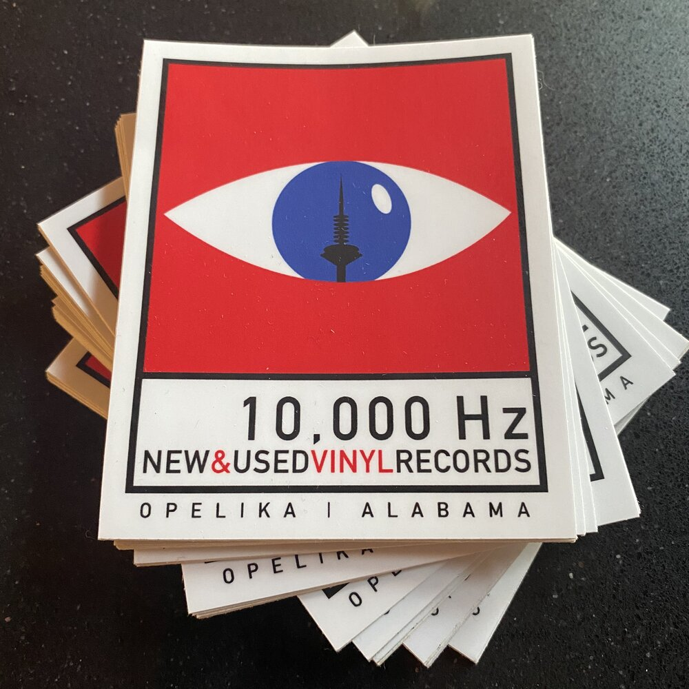 10,000 Hz OG LOGO STICKER