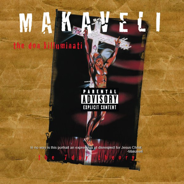 2PAC - MAKAVELI: 7 DAY THEORY (LP)