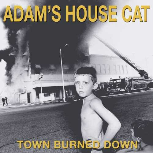 ADAM'S HOUSE CAT - TOWN BURNED DOWN (LP)