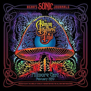 ALLMAN BROTHERS BAND - BEAR'S SONIC JOURNALS: FILLMORE EAST FEB 1970 (2xLP)