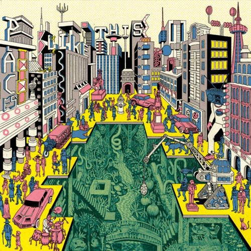 ARCHITECTURE IN HELSINKI - PLACES LIKE THIS (LP)