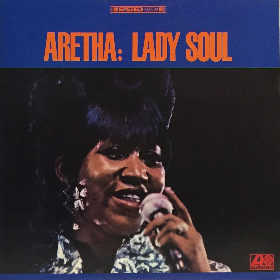 ARETHA FRANKLIN - LADY SOUL (LP)