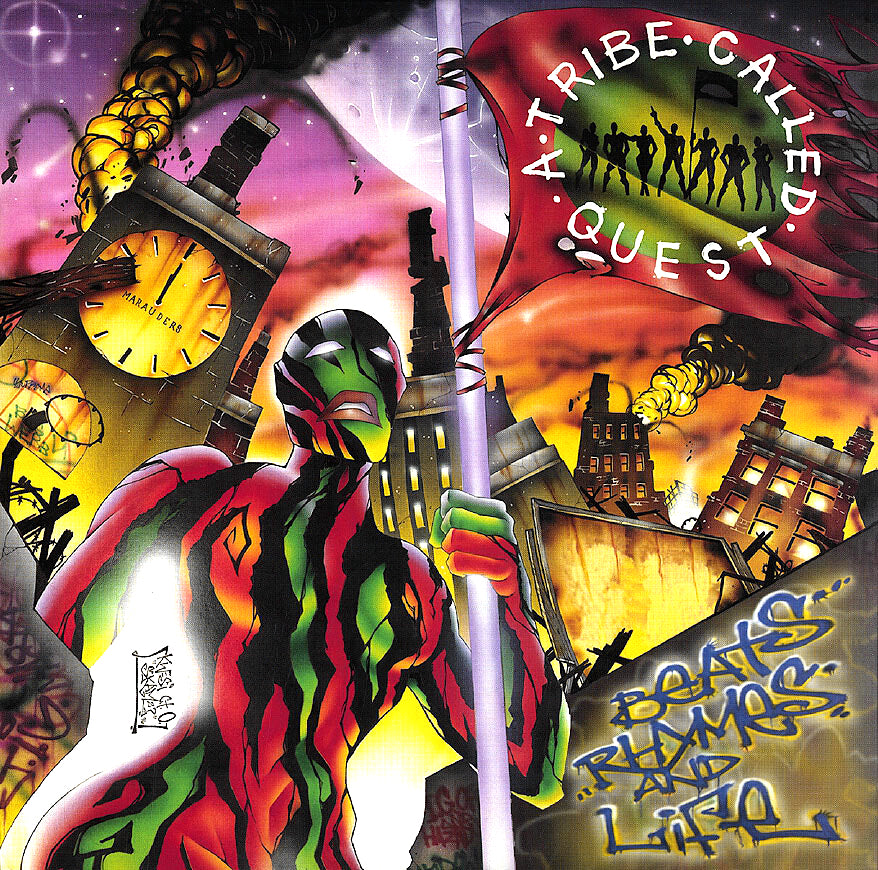 A TRIBE CALLED QUEST - BEATS RHYMES & LIFE (2xLP)