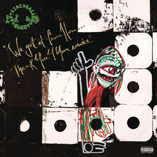 A TRIBE CALLED QUEST - WE GOT IT FROM HERE…. (2xLP)