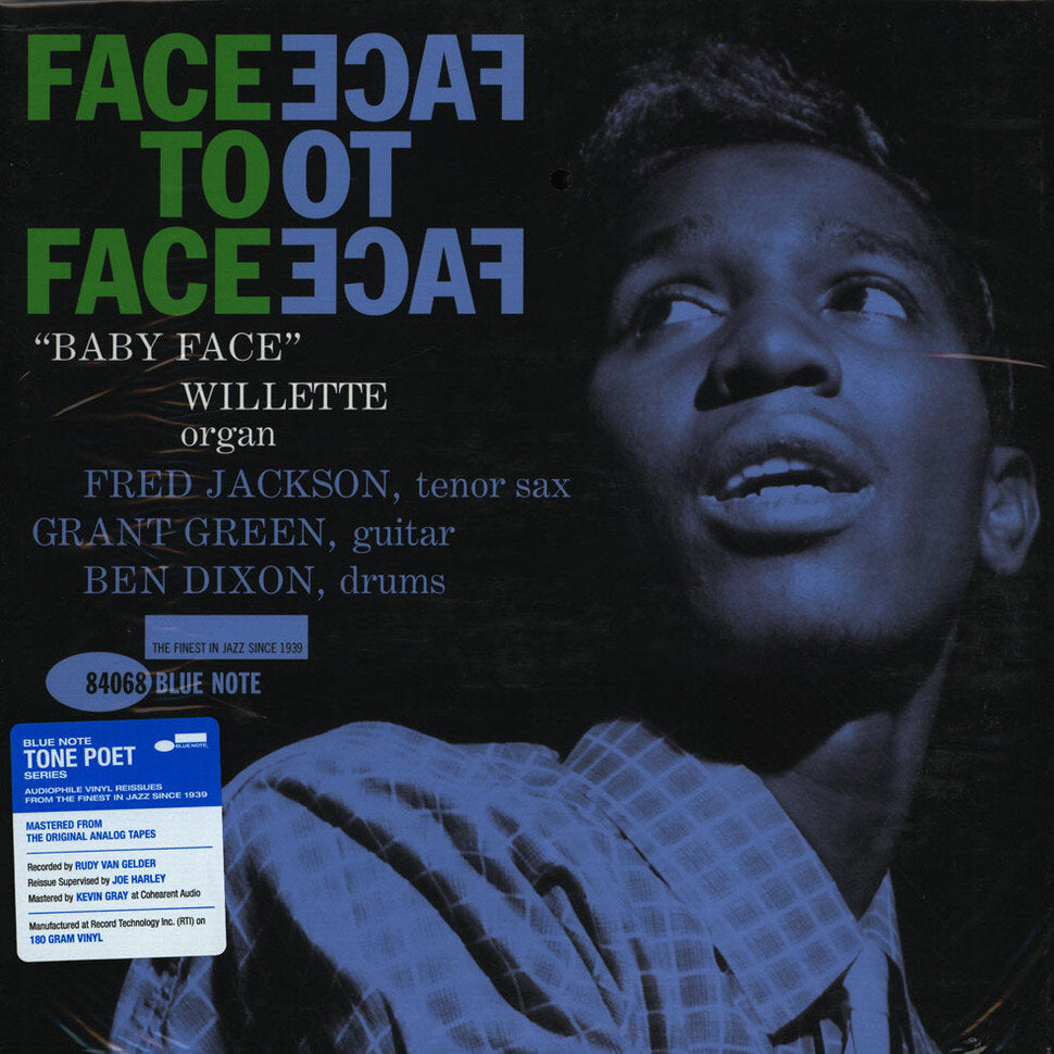 BABY FACE WILLETTE - FACE TO FACE (TONE POET LP)