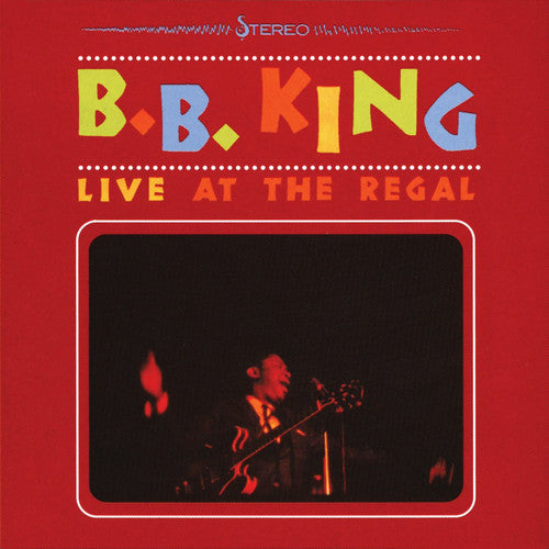 B.B. KING - LIVE AT THE REGAL (LP)