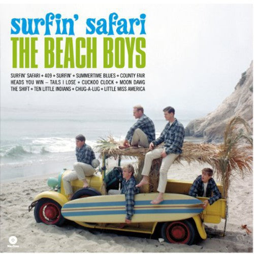 "BEACH BOYS - SURFIN SAFARI (LP+7"")"