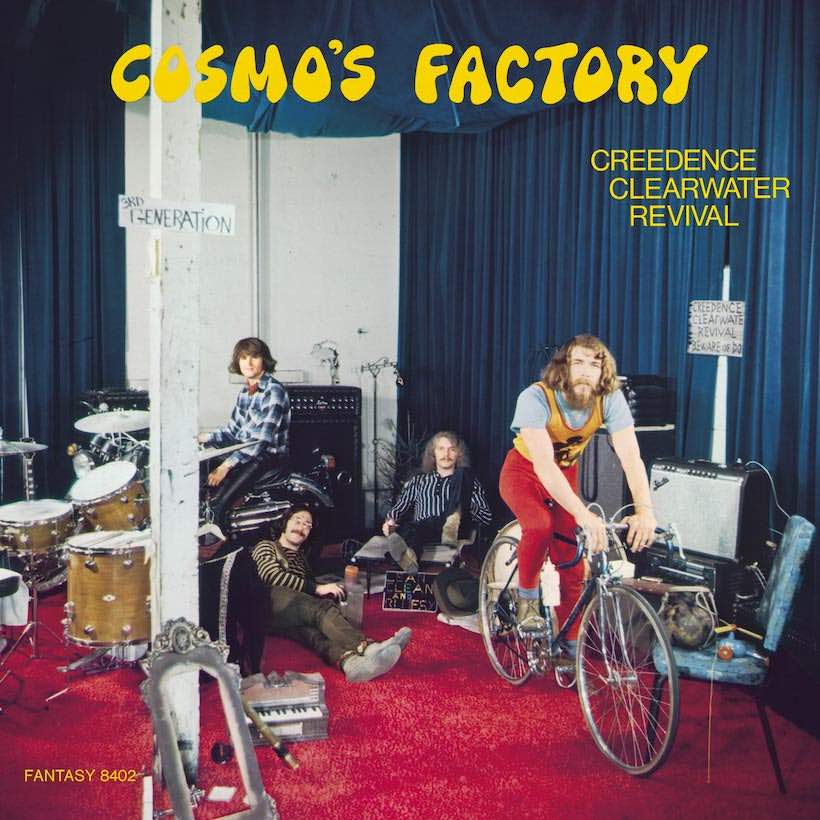 CREEDENCE CLEARWATER REVIVAL - COSMO'S FACTORY (HALF-SPEED MASTERED LP)