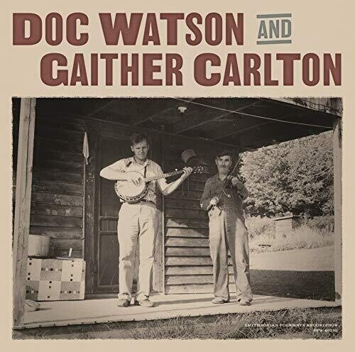 DOC WATSON AND GAITHER CARLTON - S/T (LP)