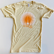 Load image into Gallery viewer, 10,000 Hz TWO-TONE TEE (CREME)