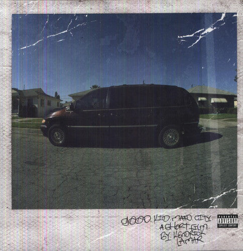 KENDRICK LAMAR - GOOD KID, M.A.A.D. CITY (2xLP)