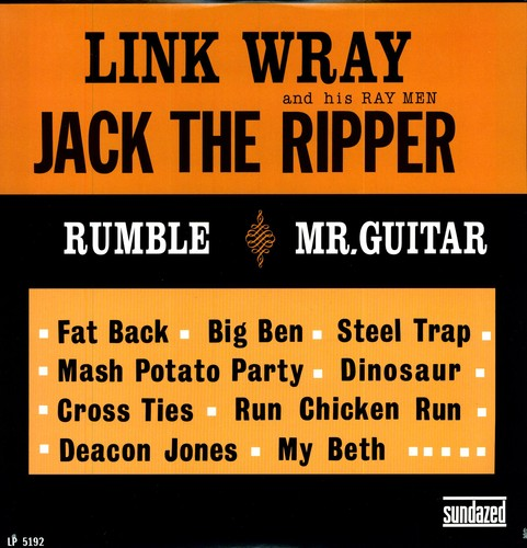 LINK WRAY AND HIS WRAY MEN - JACK THE RIPPER (LP)