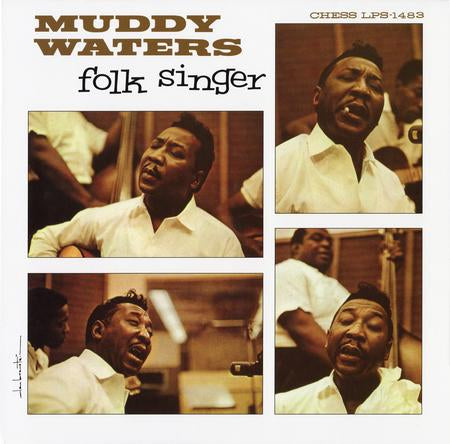 MUDDY WATERS - FOLK SINGER (ANALOGUE PRODUCTIONS LP)