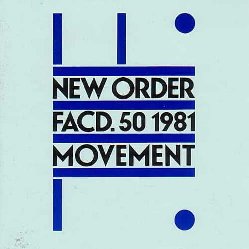 NEW ORDER - MOVEMENT (LP)