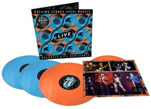 Load image into Gallery viewer, ROLLING STONES - STEEL WHEELS LIVE (4xLP BOX SET)