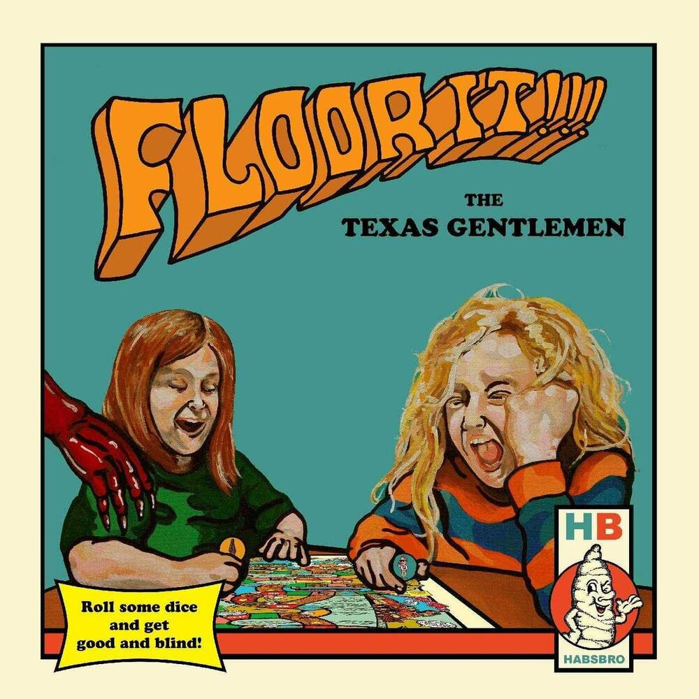 TEXAS GENTLEMEN - FLOOR IT!!! (2xLP)