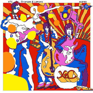 XTC - ORANGES AND LEMONS (2xLP)